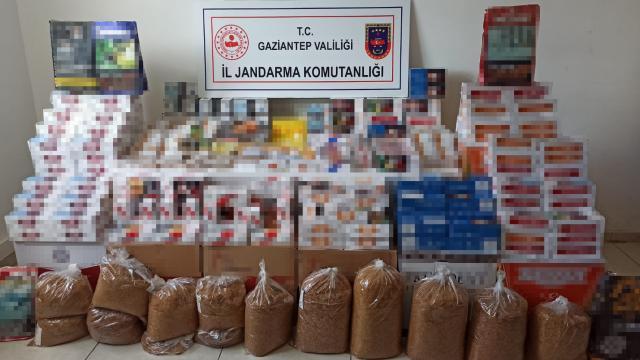 Gaziantepte kaçakçılık operasyonu: 1 gözaltı