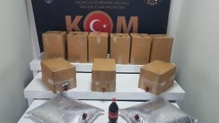 Denizli'de kaçakçılık operasyonu: 5 gözaltı