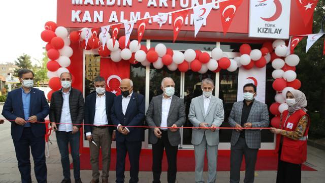 Mardinde kan bağış merkezinin açılışı yapıldı