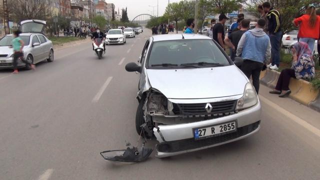 Kiliste trafik kazası: 1 yaralı