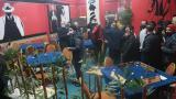 Kapalı olması gereken kahvehanedeki 17 kişiye ceza