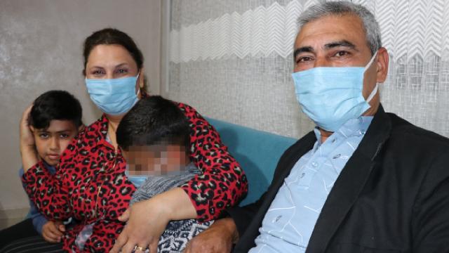 Adanalı çift doğuştan engelli Berkcanın koruyucu ailesi oldu