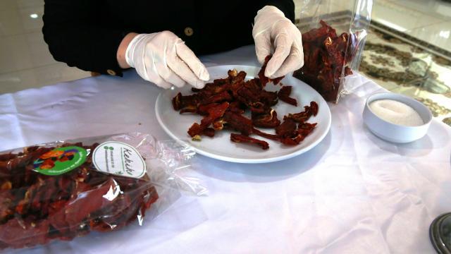 Mardinli kadınlar ürettikleri yöresel lezzetleri ülkenin dört bir yanına ulaştırıyor