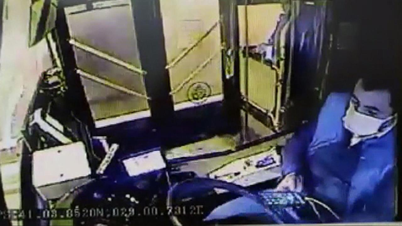 Bir kişinin öldüğü kazada şoförün ihmali kamerada