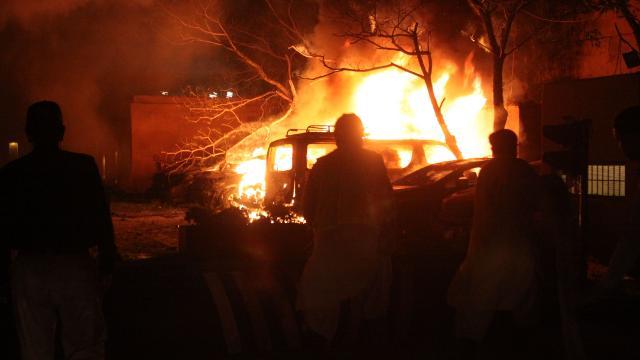 Pakistandaki patlamada ölü sayısı 5e yükseldi