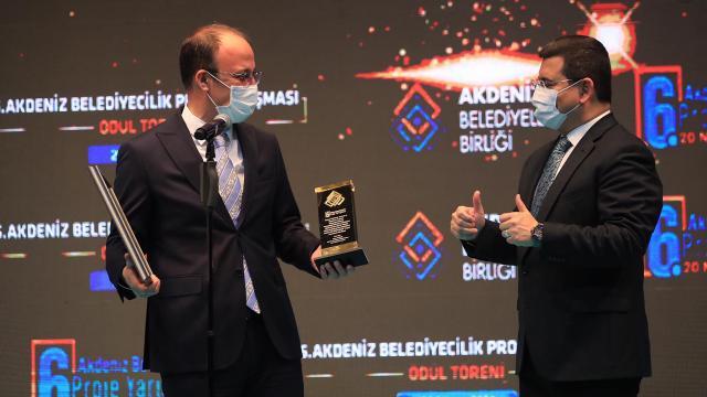 Pamukkale Belediyesine birincilik ödülü