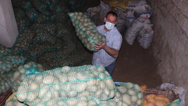 35 bin ton patates ihtiyaç sahiplerine dağıtıldı