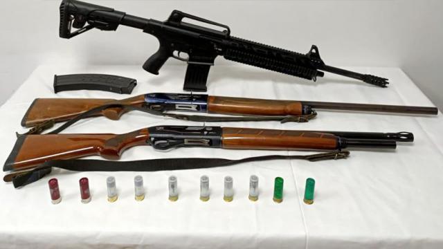 Adanada ruhsatsız 3 av tüfeği ele geçirildi: 2 gözaltı