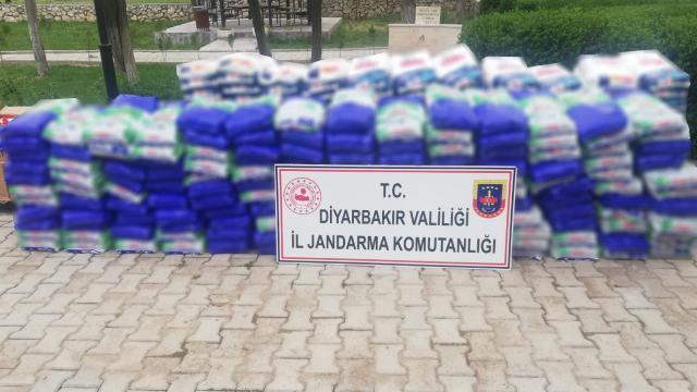 Diyarbakırda 4 ton sahte temizlik malzemesi ele geçirildi
