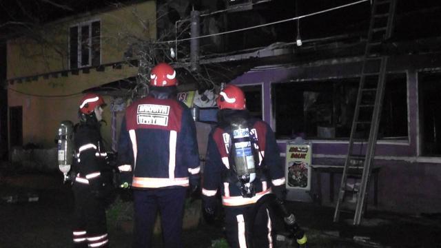 Sakaryada iş yeri yangını