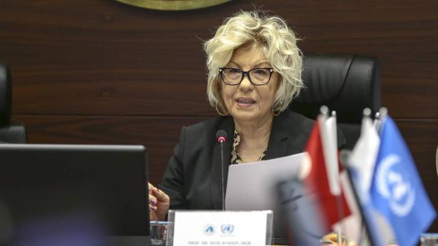 Türkiyeden Prof. Dr. Sevil Atasoya başarı mesajı