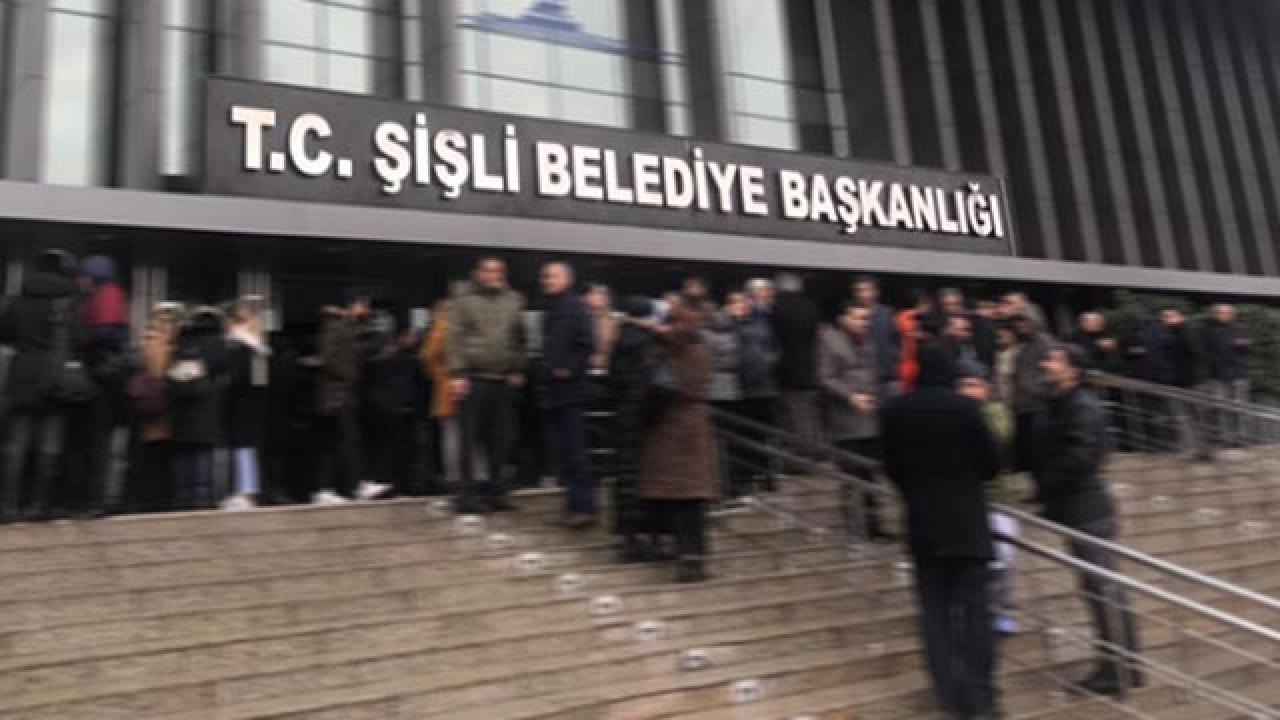 Şişli Belediyesine ait araçlar seçim için HDPye tahsis edilmiş