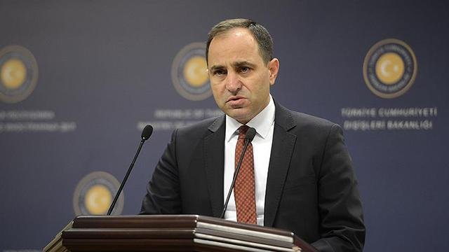 Dışişleri Bakanlığının yeni sözcüsü Tanju Bilgiç oldu