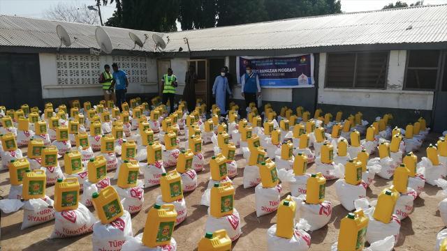 TDVden Ganaya ramazan yardımı