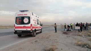 Aksaray'da trafik kazası: 2 yaralı