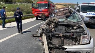Kahramanmaraş'ta kamyonet ile tır çarpıştı: 1 ölü