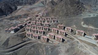 Yusufeli yeni yerleşim yeri inşasında sona yaklaşıldı