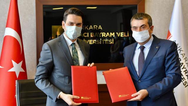 YTB ve Hacı Bayram Veli Üniversitesinden iş birliği