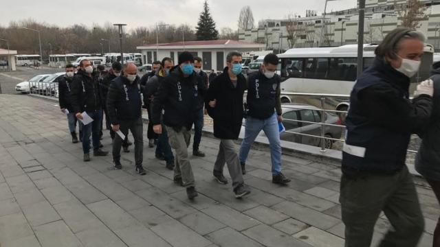 Ankarada 11 firari FETÖcü yakalandı