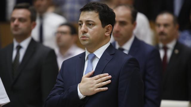 Gürcistan Parlamentosu Başkanı Talakvadze istifa etti