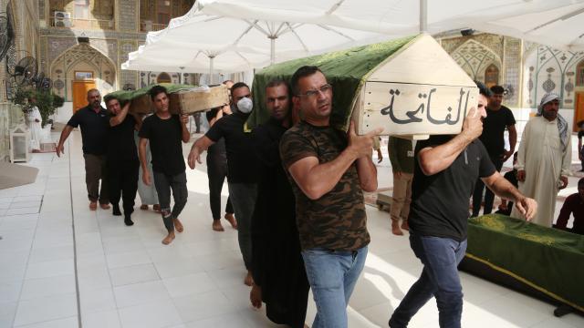 Irakta hastane yangını sonrası 3 günlük yas ilan edildi