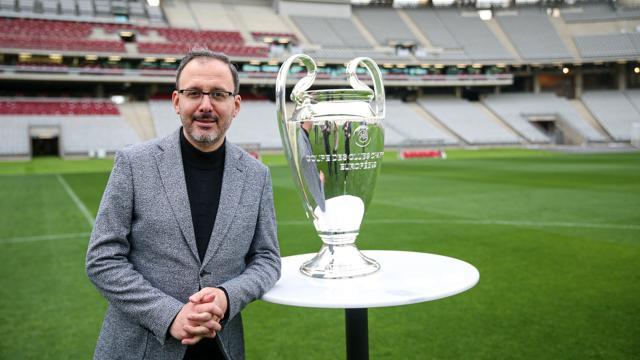 Bakan Kasapoğlu: Şampiyonlar Ligi finaline hazırız