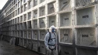 Brezilya'da bir günde 3 bin 472 kişi hayatını kaybetti
