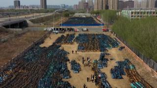 Çin'in bisiklet mezarlıklarıyla dolu şehirleri
