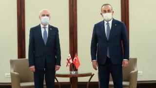 Bakan Çavuşoğlu, Gürcistan ve Polonya dışişleri bakanlarıyla görüştü