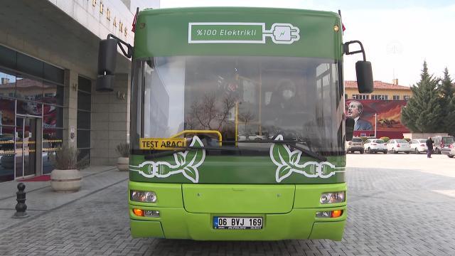 Ankarada 23 eski EGO otobüsü elektrikli otobüse dönüştürülecek