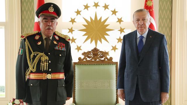 Cumhurbaşkanı Erdoğan, Raşid Dostumu kabul etti