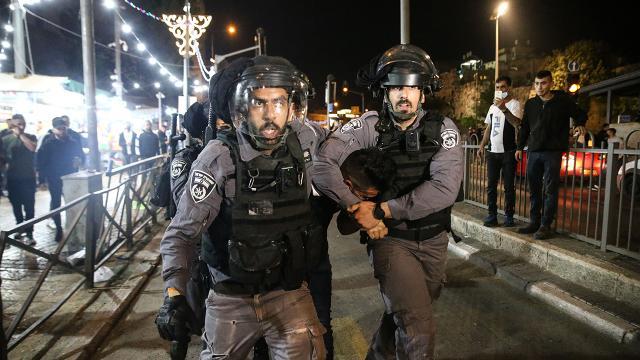 İşgalci İsrail ramazan dinlemiyor: 6 Filistinli yaralandı
