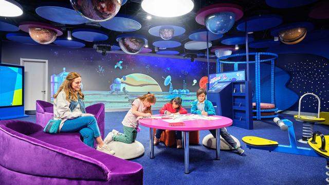 İstanbul Havalimanında çocuklara özel konsept