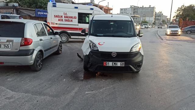 Hatayda trafik kazası: 1 yaralı