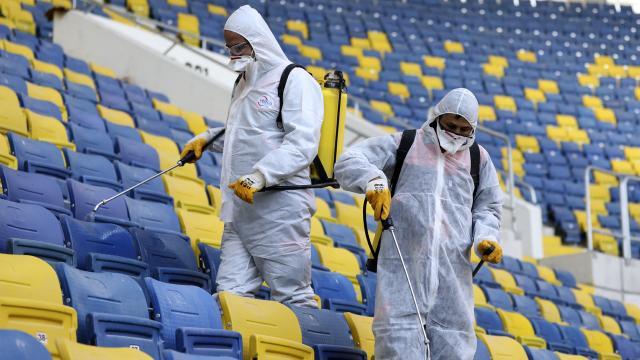 Spor Hizmetleri Genel Müdürlüğü koronavirüs tedbirlerini duyurdu