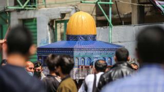İsrail'in insanlık dışı saldırısı protesto edildi