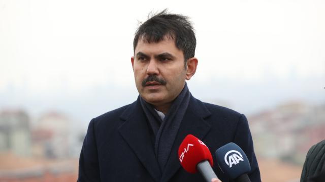 Bakan Kurum: İstanbulun en büyük kentsel dönüşümünü başlatıyoruz
