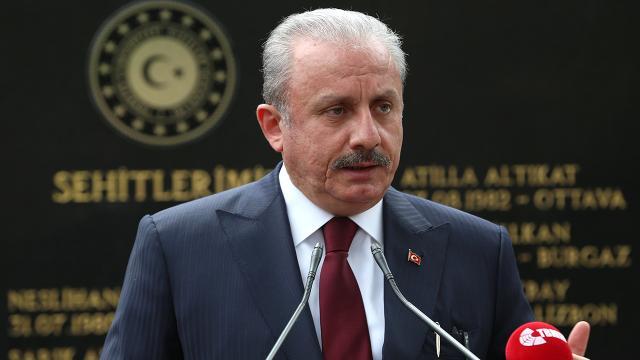 TBMM Başkanı Şentop: BMnin çatışmalara son verme çağrısı yeterli değil
