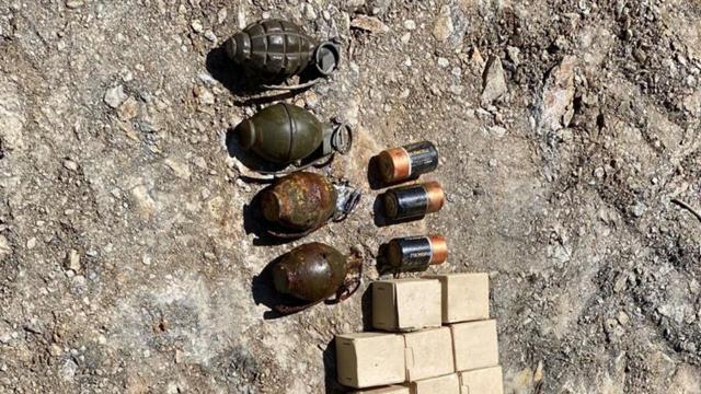 Bitliste terör operasyonları: Çok sayıda patlayıcı ele geçirildi