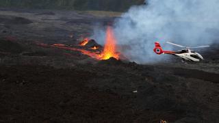 Yanardağ patladı, 2 kişi hayatını kaybetti