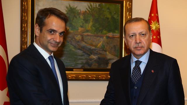 Yunanistan Başbakanı Miçotakis: Erdoğan ile bir araya geleceğim