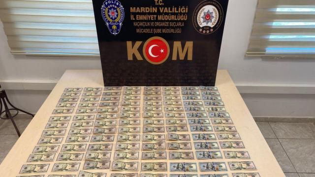 Mardinde 6 bin 350 sahte dolar ele geçirildi