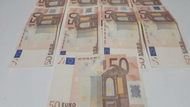 Denizlide sahte euro operasyonu: 2 tutuklama