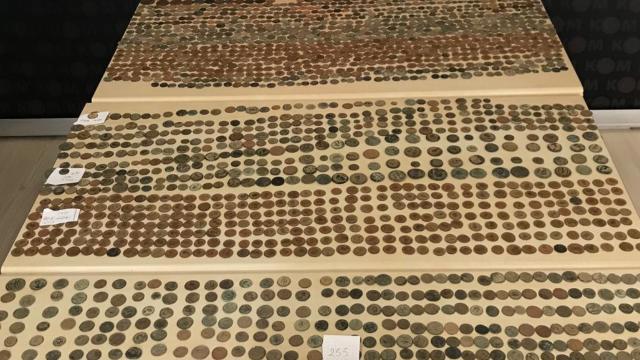 2 bin 155 tarihi sikke ele geçirildi