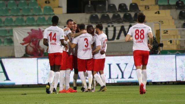 Sivassporun yenilmezlik serisi 14 maça çıktı