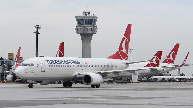 THY uçuş trafiğiyle Avrupanın zirvesinde