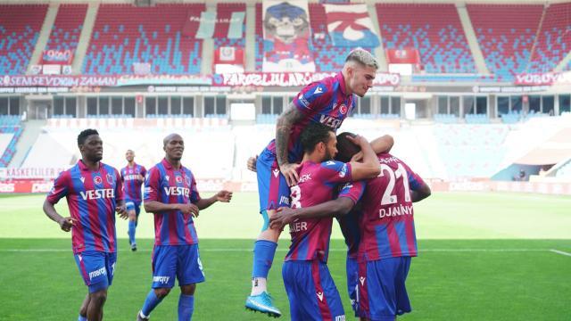 Djaniny attı Trabzonspor kazandı
