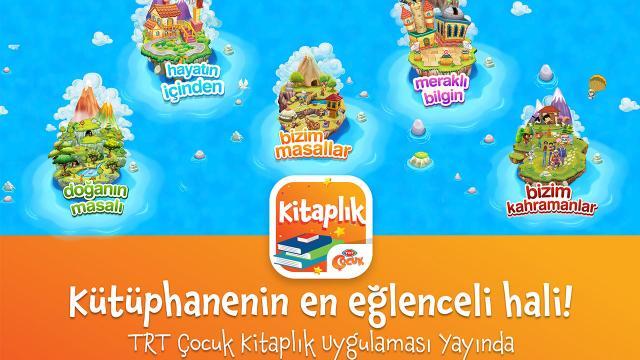 TRT'den çocuklara 23 Nisan hediyesi: TRT Çocuk Kitaplık yayında