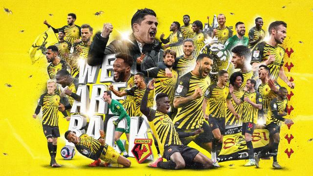 Watford yeniden Premier Ligde