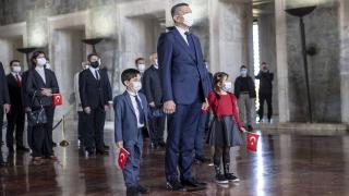 Bakan Ziya Selçuk Anıtkabir'i ziyaret etti